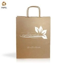 Bolsa Papel Cention 22 x 27 x 10 cm - 90g