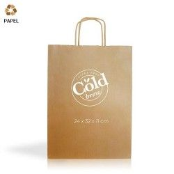 Bolsa Papel Cention 24 x 32 x 11 cm - 90g