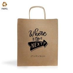 Bolsa Papel Cention 27 x 31 x 16 cm - 115g