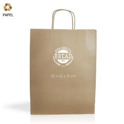 Bolsa Papel Cention 32 x 42 x 12 cm - 100g