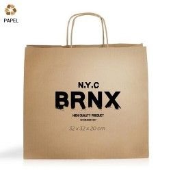 Bolsa Papel Cention 32 x 32 x 20 cm - 100g