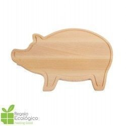 Tabla de cortar Wooden Piggy